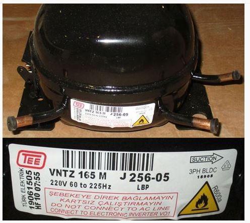 Beko Compressore vntz165mt per frigorifero - beko 5256905011