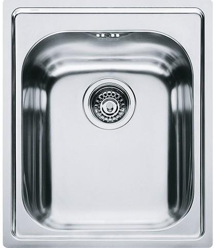 Franke spa Amx 610 lavello monovasca inox satinato 42x50 - franke ...